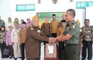 Dalam Rangka Menjaga Dan Mempertahankan NKRI KODIM 0819 Pasuruan Menjalin Silaturahmi Dengan Keluarga Besar TNI