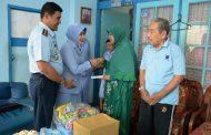 HUT TNI AU Ke 72 Lanud Surabaya Gelar Anjangsana
