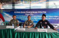 Pasiter Kodim 0818 Malang Hadiri Giat Sosialisasi Pendidikan Politik