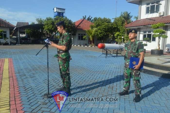 USAI PILPRES DAN PILEG, PUSHIDROSAL TNI AL GELAR APEL KHUSUS