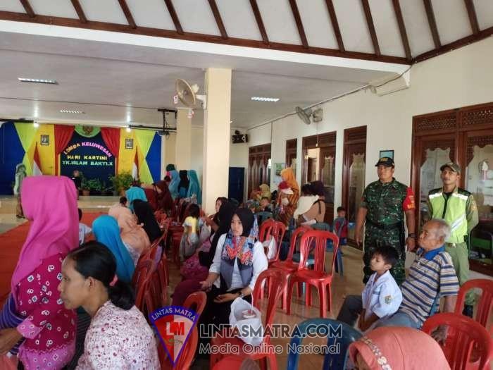 Babinsa Kelurahan Joyotakan Monitoring Kegiatan Peringatan Hari R.A Kartini Di Wilayah Binaannya