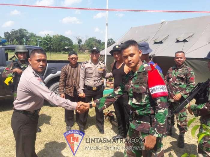 Latihan Pratugas, Yonif Mekanis Raider 411 Kostrad Amankan Warga Pelaku llegal Logging