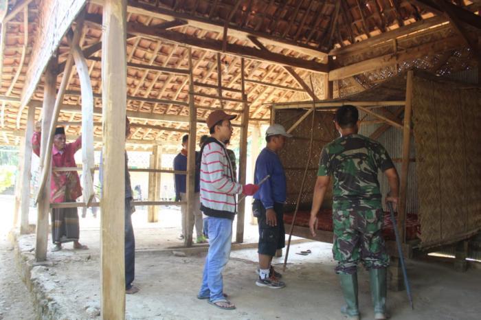 Satgas TMMD Garap RTLH di Kabupaten Sampang
