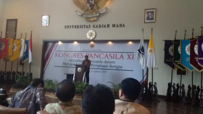 Kunker Wapres RI Yusuf Kalla Hadiri Konggres Pancasila di Yogyakarta