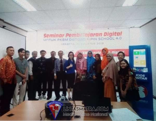 Seminar pembelajaran digital untuk PKBM (Pusat Kegiatan Belajar Masyarakat) batch pertama telah selesai dengan sukses