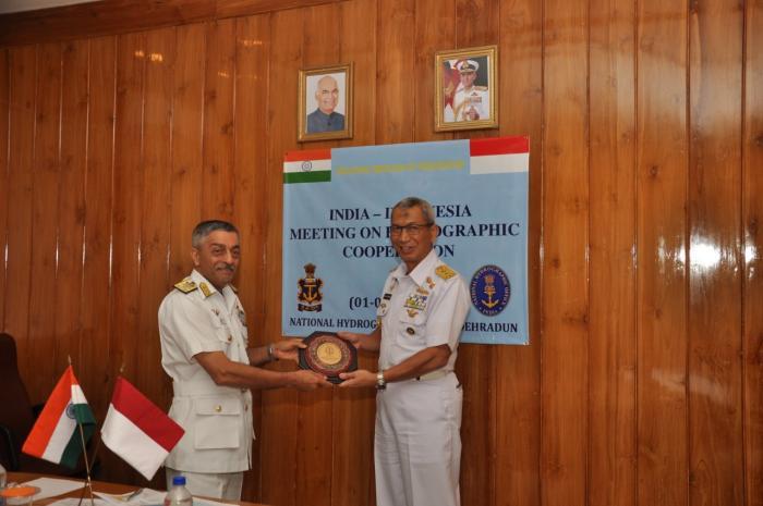 PUSHIDROSAL DAN INDIAN NATIONAL HYDROGRAPHIC OFFICE (NHO) TINGKATKAN KERJA SAMA SDM DI BIDANG SURVEY DAN PEMETAAN HIDROGRAFI