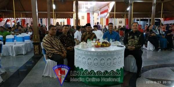 Danlanal Batuporon dan Ketua Cabang 5 Korcab V DJA II Hadiri Pisah Sambut Dandim 0829 dan Pelepasan Ketua DPRD Bangkalan