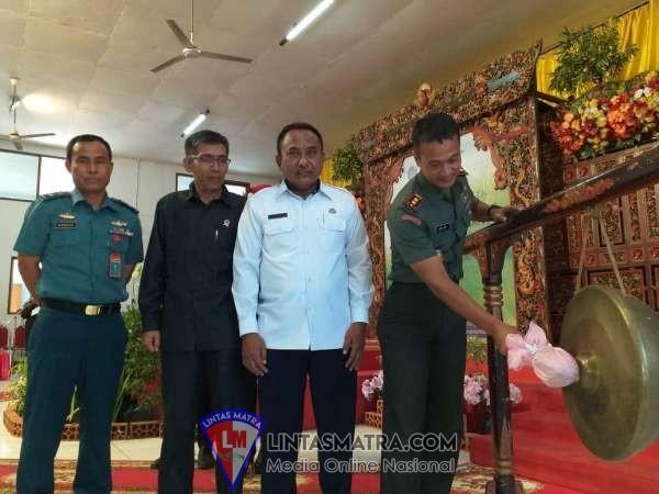 Palaksa Lanal Batuporon Hadiri Pembukaan Pemilihan Duta Wisata Kacong Jebbing Bangkalan 2019