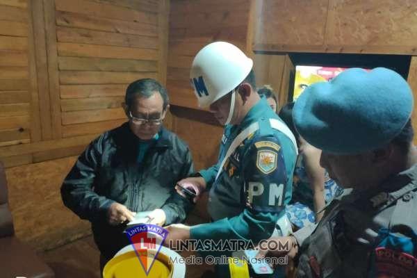 Denpom Lanal Yogyakarta Gelar Operasi Gaktib Gabungan Razia Tempat Huburan Malam