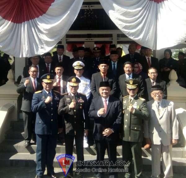 Personel Lanal Yogyakarta Ikuti Peringatan Hari Kesaktian Pancasila Tahun 2019