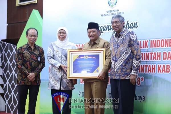 Kabupaten Sidoarjo Kembali Terima Penghargaan WTP