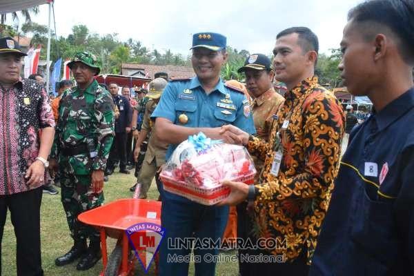 Danlanal Cilacap Hadiri Upacara Pembukaan TMMD Reguler Ke - 106 Tahun 2019