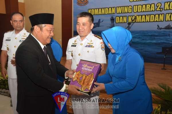 Bupati Saiful Ilah Hadiri Sertjiab  Tiga Jabatan Penting Puspenerbal Juanda