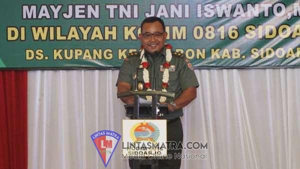 Tim Wasev Mabes TNI AD Tinjau TMMD 106 Kodim Sidoarjo