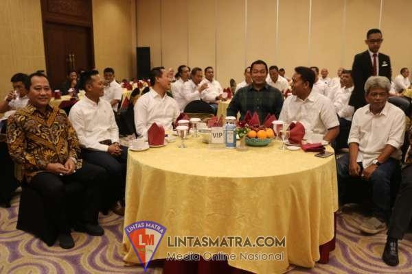 Danlanal Semarang Bersama Forkopimda Kota Semarang Hadiri Syukuran dan Silaturahimi