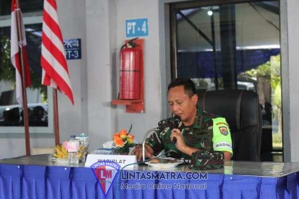 Asops Danlantamal V Buka Latihan Search and Rescue Selat Bali Tahun 2019