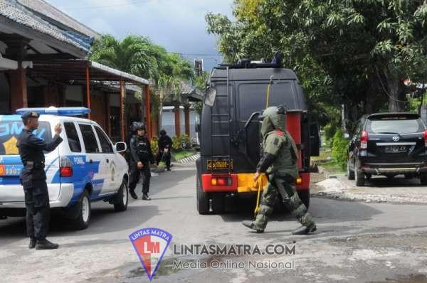 Ancaman Teror BOM Kacaukan Suasana di Pangkalan TNI AL  Denpasar