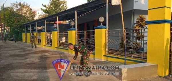 SAMBUT HARI JUANG TNI-AD DAN HUT KODAM BRAWIJAYA DI MASJID BAITURRAHMAD JEMBER