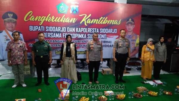 Melalui Cangkrukan, Polresta Sidoarjo Jaga Kamtibmas Tetap Aman dan Kondusif Jelang Pilkades di Sukodono