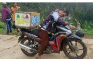 Penjual es Keliling, Misyanto Meninggal Dunia Diatasi Motor