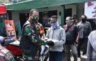 LETKOL Arm. Beni SUTRISNO BARENG CLUB MOGE SALURKAN BANTUAN UNTUK WARGA TERDAMPAK KORONA