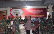 Berbagi Kasih, Ksatria Muda Yonarmed 12/Divif 2 Kostrad Sambang Yayasan Panti Asuhan