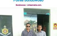 Aktivis Lingkungan, Edi Siroto, Bersama Kuasa Hukumnya, Lukman Hakim.S.H. Mendatangi  Polres Bondowoso.