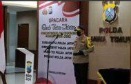 Kapolda Pimpin Sertijab Pejabat Utama Polda Jatim dan Kapolres