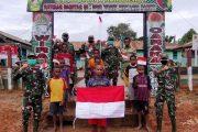 Pupuk Jiwa Nasionalisme di Tanah Papua, Satgas pamtas Ajarkan Wawasan Kebangsaan