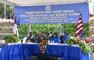 KASAL Apresiasi Program Ketahanan Pangan Lanal Denpasar