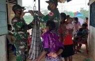 Pantau Kesehatan Balita di Daerah Perbatasan Indonesia-Papua Nugini