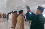 Walikota Ir Umar Zunaidi Lantik 14 Pejabat Tinggi Pratama dan Administrator