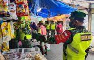 Tiga Pilar Kecamatan Pucuk Gencarkan Patroli Prokes