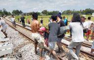 Satu Tewas dan Enam Luka Berat Akibat Tertabrak Kereta Api Penataran Jurusan Blitar