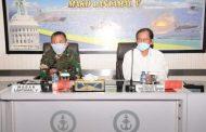 Lantamal V Terima Kunjungan Kerja dari Tim Reviu BPKP dan Kemhan