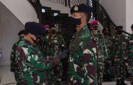 Letnan Kolonel Laut (P) Maman Nurachman Resmi Jabat Kadeppel AAL
