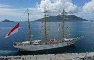 Tiga Hari Sandar Natuna, Taruna AAL Satlat KJK Lanjutkan Pelayaran Menuju Tarakan