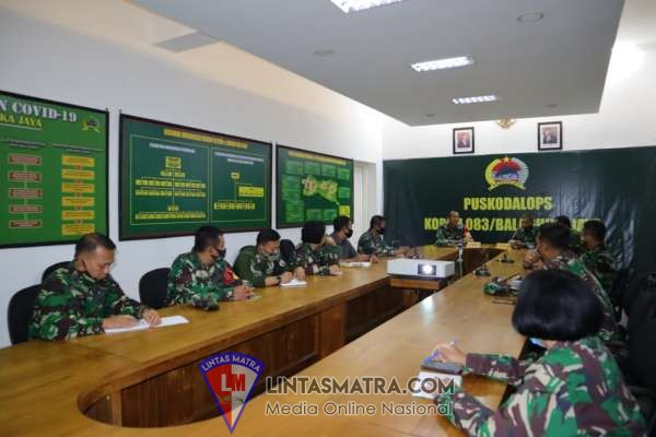 Tim Wasrik Itdam V/Brawijaya Audit Program Kerja dan Anggaran Korem 083/Baladhika Jaya