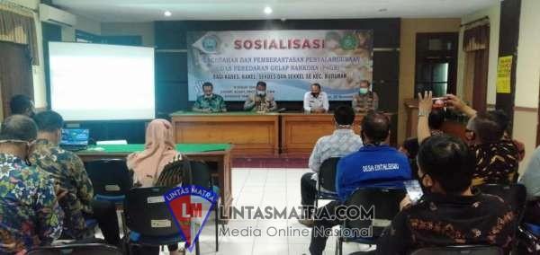 Ajak Perangkat Desa Sosialisasikan P4GN