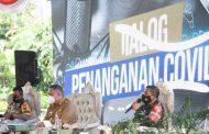 Dialog Soal Covid-19, Brigjen TNI Herman Sebut Sinergitas Kunci Utama
