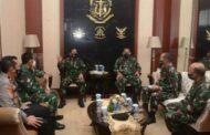 Wagub AAL Hadiri Rapat Koordinasi Pimpinan Akademi TNI - Polri TW 1 2021