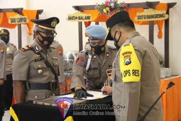 Polres Malang Gelar Upacara Serah Terima Jabatan Kapolsek di Wilayah Satuannya