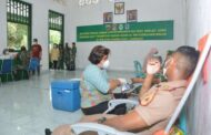 Usai Benahi Rumah Ibadah, Taruna AAL Satlat Hiu Gelar Aksi Sosial Donor Darah