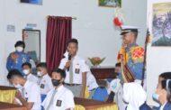 Taruna Satlat-2 Hiu Ajak Siswa SMA Negeri 1 Binjai Menjadi Taruna