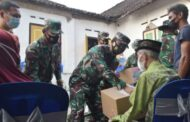 Pangdam Tinjau Lokasi Pasca Gempa di Desa Ploso Blitar
