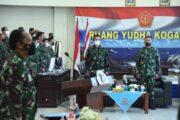 Gubernur AAL Hadiri Pembukaan Latihan Puncak Armada Jaya XXXlX/2021