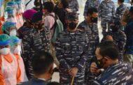 Gubernur AAL Hadiri Peresmian RS. Darurat Covid-19 Lanmar Surabaya oleh Kasal