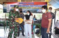 Wagub AAL Tinjau Serbuan Vaksinasi TNI AL di Kampung Nelayan Morokrembangan