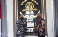 Akademi TNI Angkatan Laut Raih Peringkat l Satuan Kerja Terbaik Triwulan ll 2021