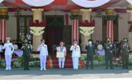 Peringatan HUT RI ke-76 di Grahadi Berlangsung Khidmat